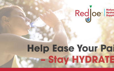 Help Ease Your Pain – Stay Hydrated